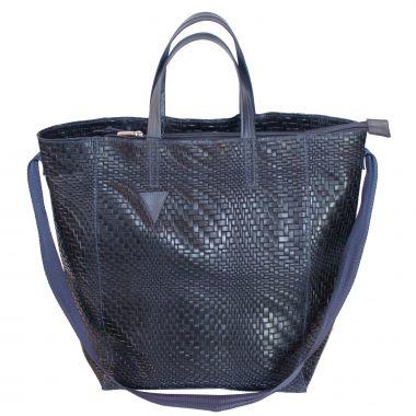 borsa a sacco sacbag black blue