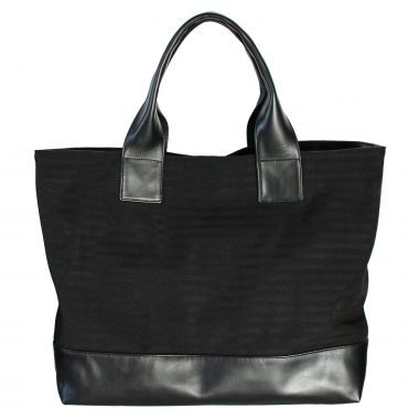 borsa a spalla tote bag farida total black