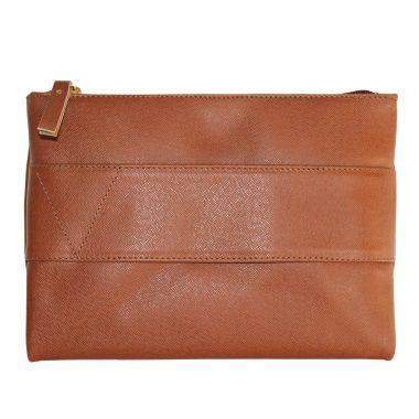 pochette borsetta clutch saffiano