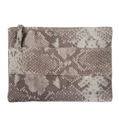 pochette borsetta clutch snake BR