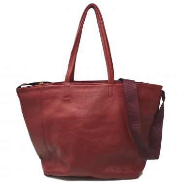 borsa a sacca sac bag V9 bordeaux