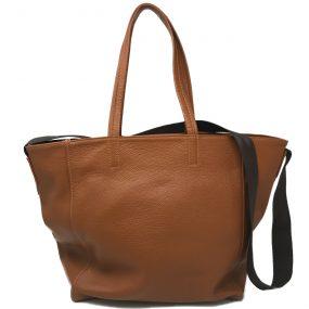 borsa a sacca sac bag V9 cognac
