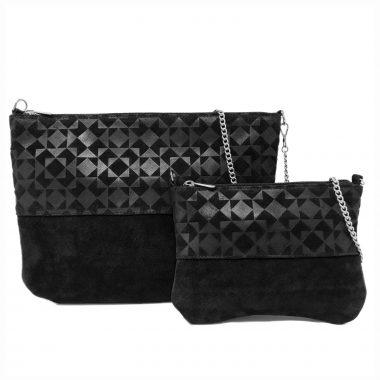 borsa tracolla shoulder bag art16TR10 20 V16 3D nero black